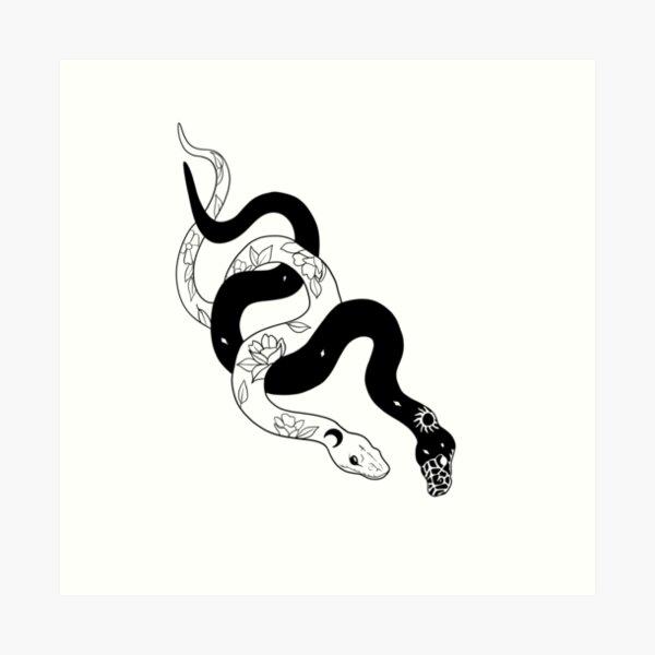 Love snakes Art Print