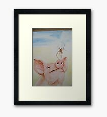 Wilbur and Charlotte Framed Print
