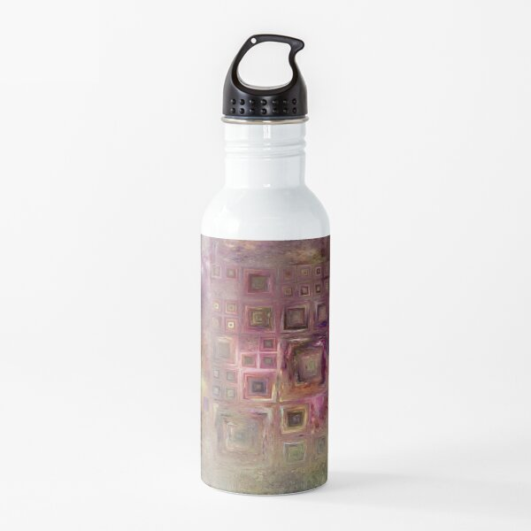 Crystalline Squares 6 Water Bottle
