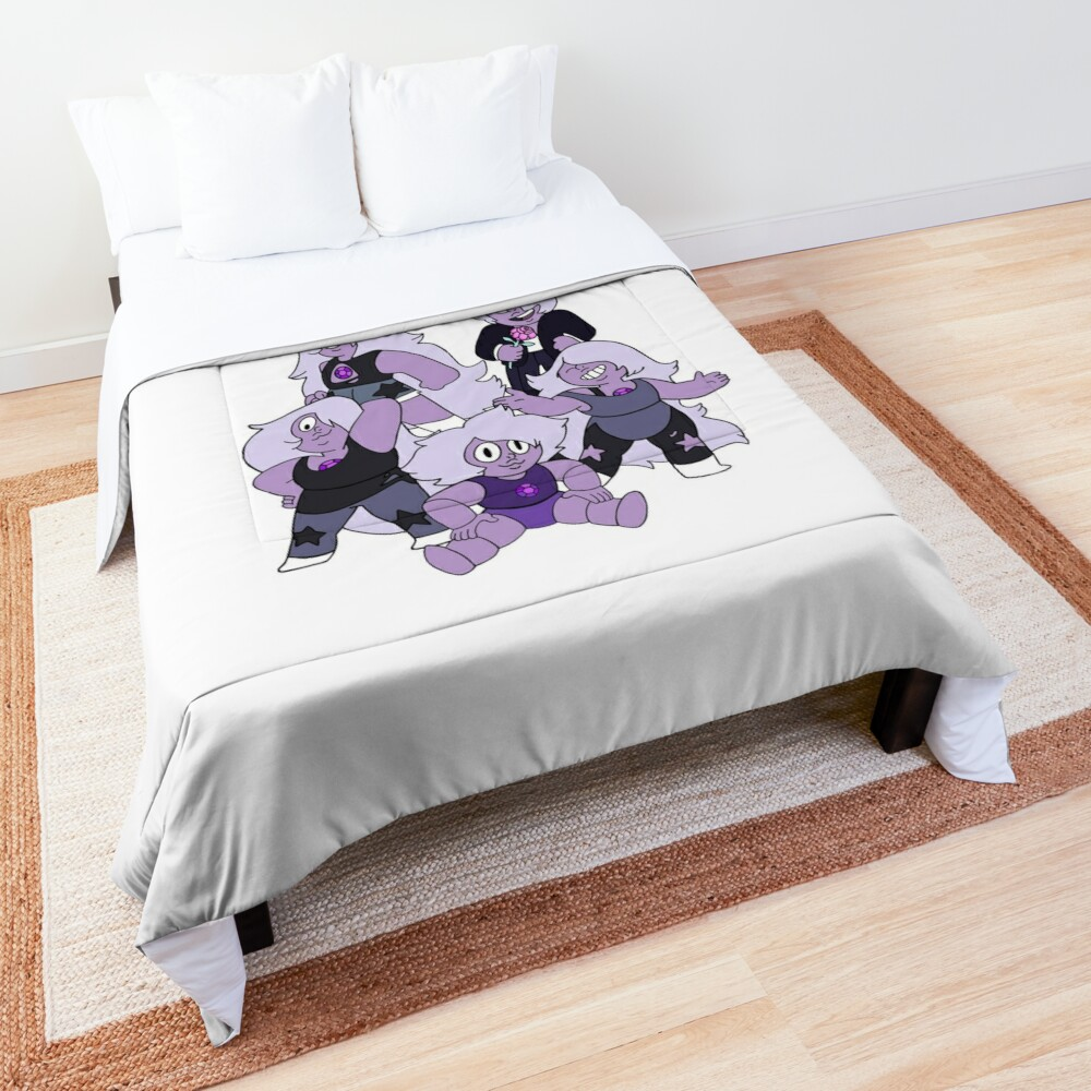 The many faces of Amethyst Comforter