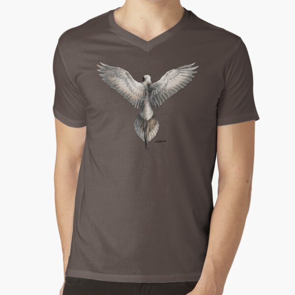 Mourning Dove V-Neck T-Shirt
