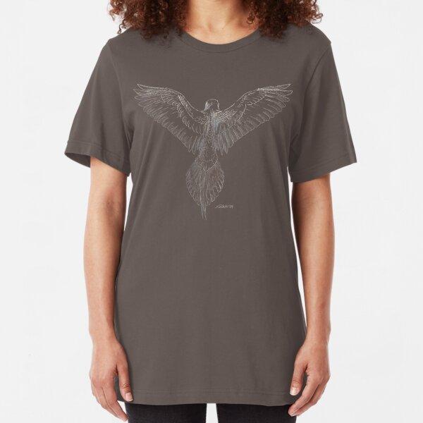 Mourning Dove (dark shirts) Slim Fit T-Shirt