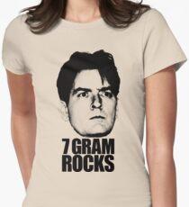 7 Gram Rocks Women's Fitted T-Shirt