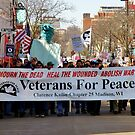 Marching For Peace by AuntieJ