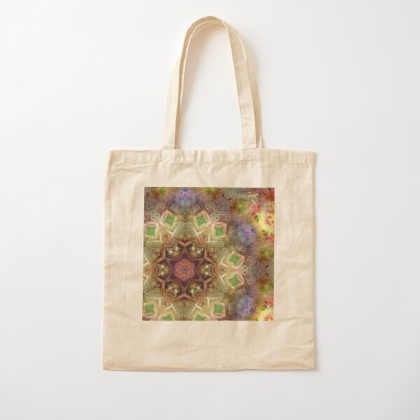 Crystalline Reflections 14 Cotton Tote Bag