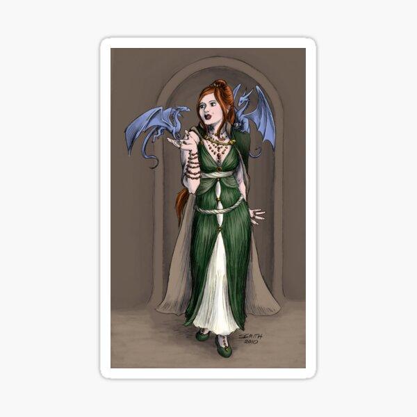 The Sorceress Sticker