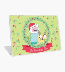 It's Christmas Time! (Adventure Time) Laptop Skin