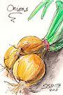 Yellow Onions by Stephanie Smith
