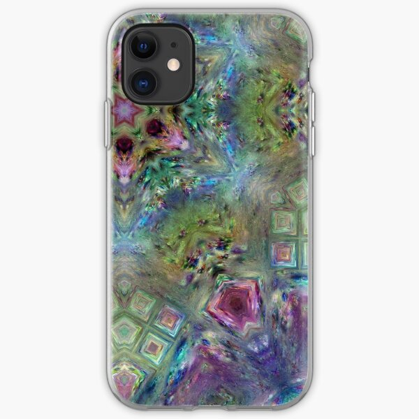 Crystalline Reflections 8 iPhone Soft Case