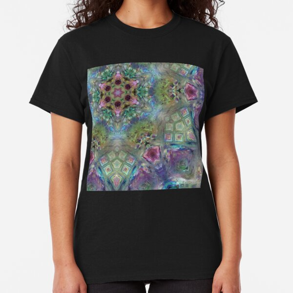 Crystalline Reflections 8 Classic T-Shirt