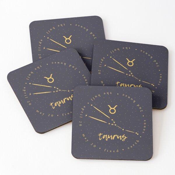 Taurus Coasters (Set of 4)