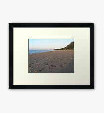 Late afternoon Scarness Beach Framed Print