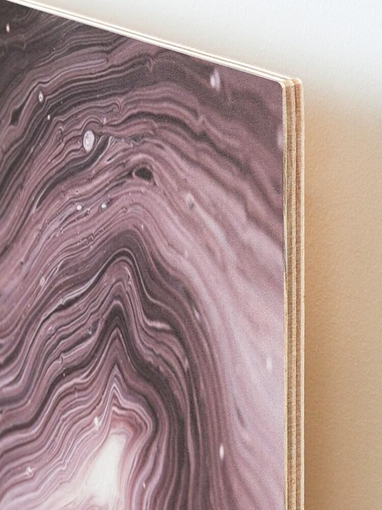 Alternate view of Geode Amethyst Mounted Print