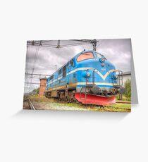 Locomotives of Värnamo VI Greeting Card