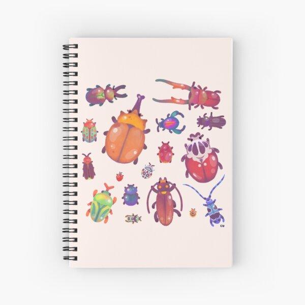Beetle - pastel Spiral Notebook