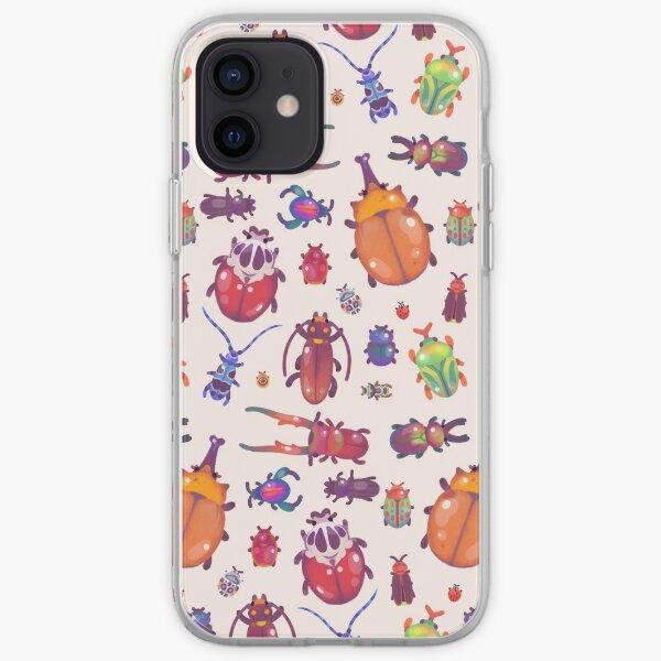 Escarabajo - pastel Funda blanda para iPhone