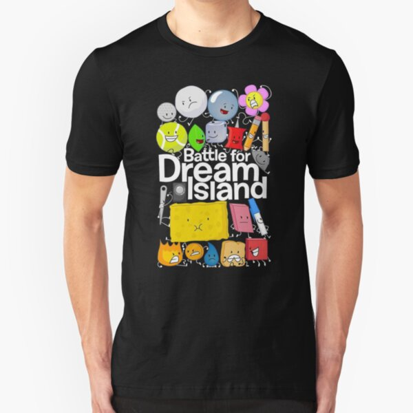 Battle For Dream Island Slim Fit T-Shirt