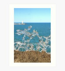 Ice Formations Art Print