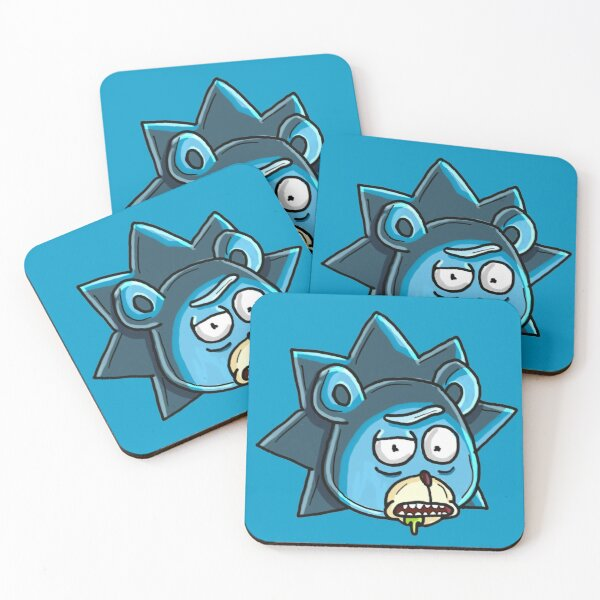 Teddy Rick from Rick and Morty™  Coasters (Set of 4)