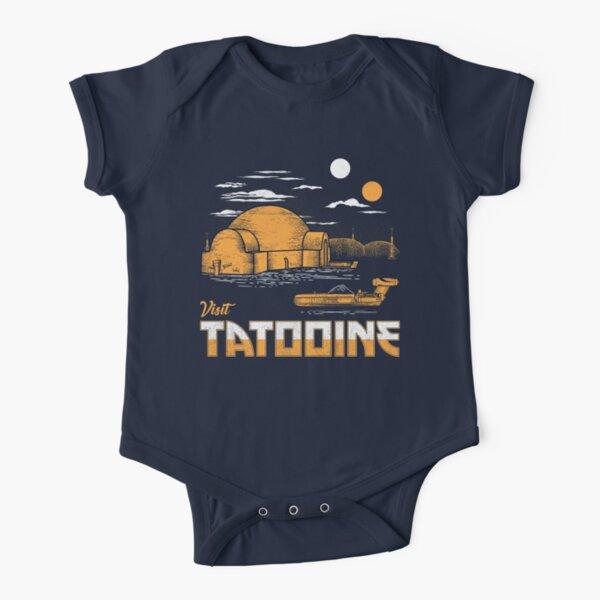 Visit Tatooine Short Sleeve Baby One-Piece