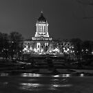Manitoba Legislative Building by Réjean Brandt