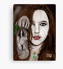 LYNETTE THE BODY AND SOUL OF INK Canvas Print
