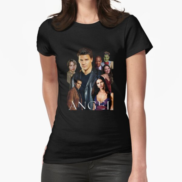 Angel TV series - The Good Guys Fitted T-Shirt