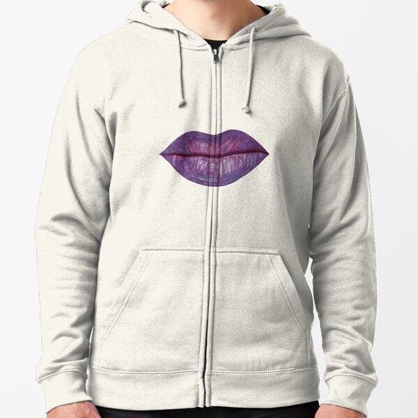 Full Lips (Oprah Winfrey) Zipped Hoodie