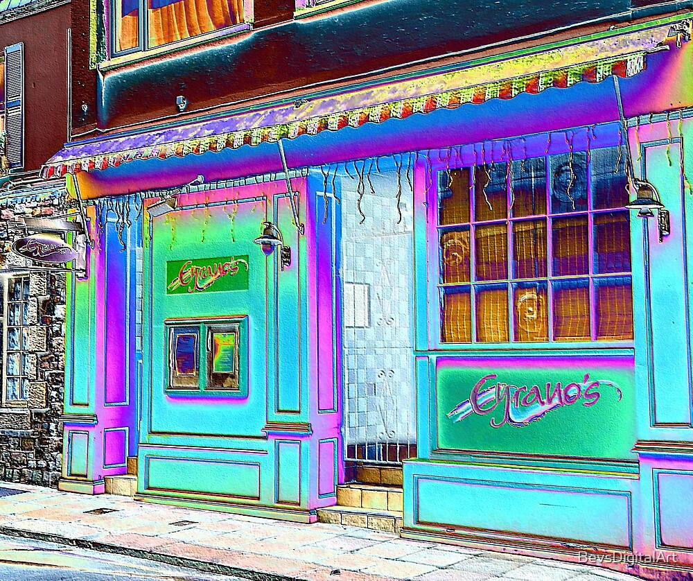 Rainbow Street... by BevsDigitalArt