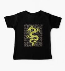 """The Year Of The Dragon"" Clothing Baby Tee"