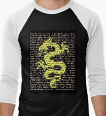 """The Year Of The Dragon"" Clothing Men's Baseball ¾ T-Shirt"