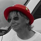 Woman in the Red Hat by DEB CAMERON