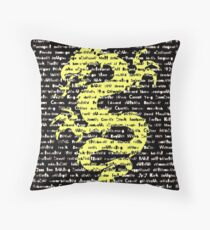 """""""The Year Of The Dragon"""" Throw Pillow"""