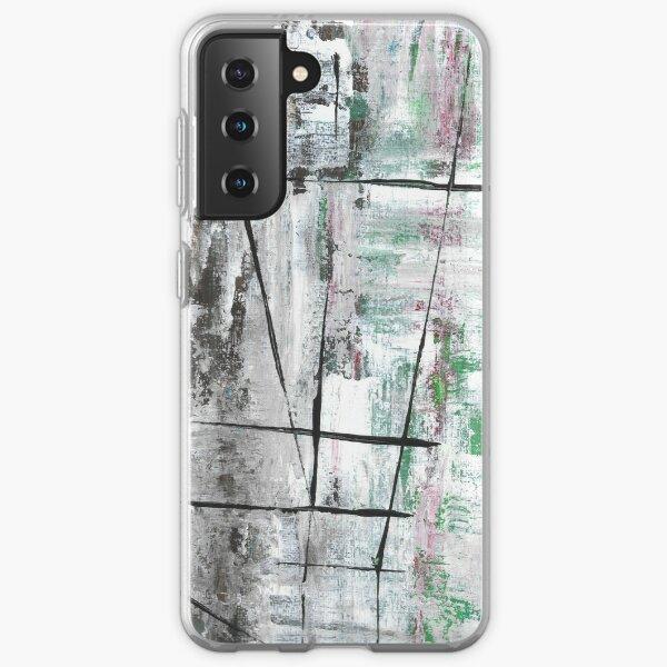 Winter fence Samsung Galaxy Soft Case