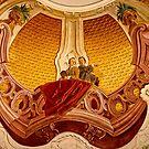Fresco in castle chapel Vöhlinschloss Illertissen Bavaria by Elzbieta Fazel