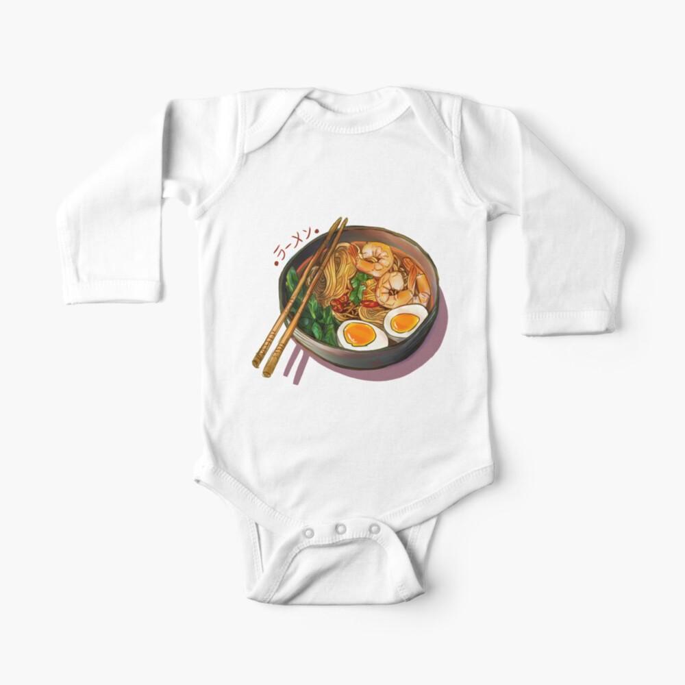 Japanses Ramen Noodles Bowl Baby One-Piece