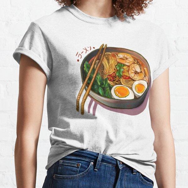 Bol de nouilles ramen japonais T-shirt classique