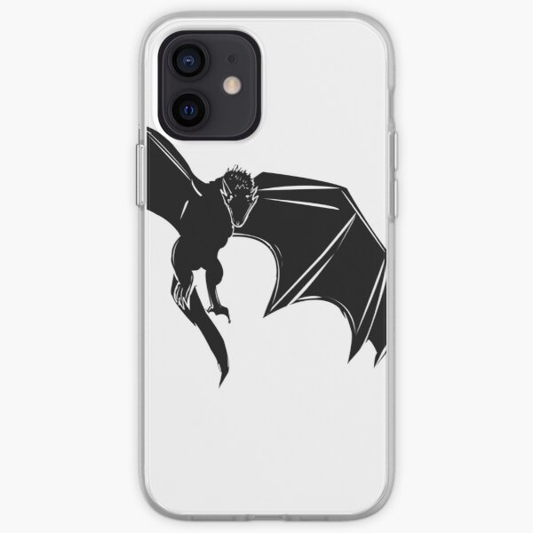 Silueta Drogon Funda blanda para iPhone