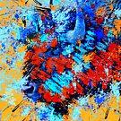 Bison Head by rosalin