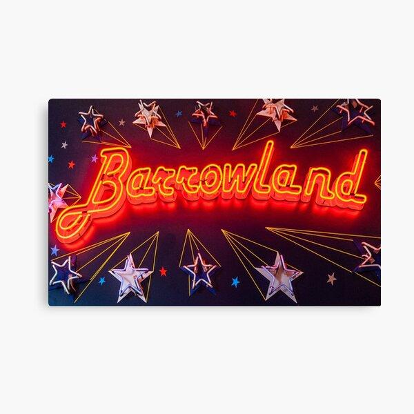 Neon Barrowland Canvas Print