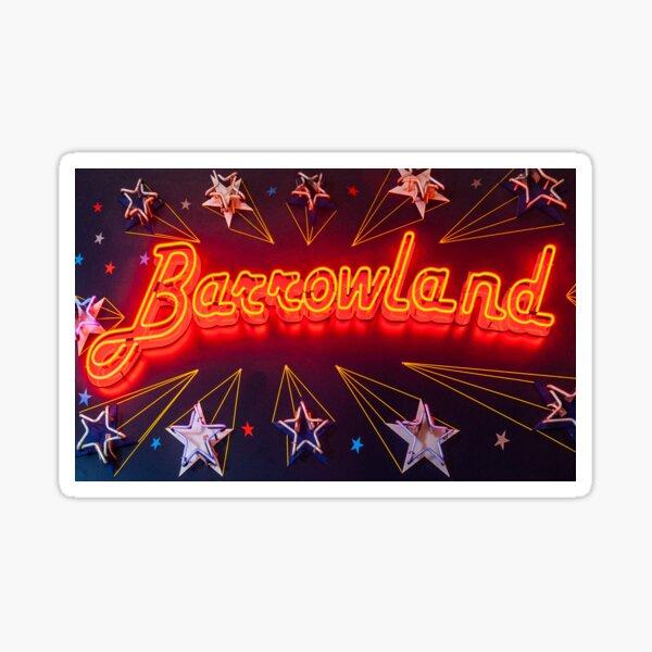 Neon Barrowland Sticker