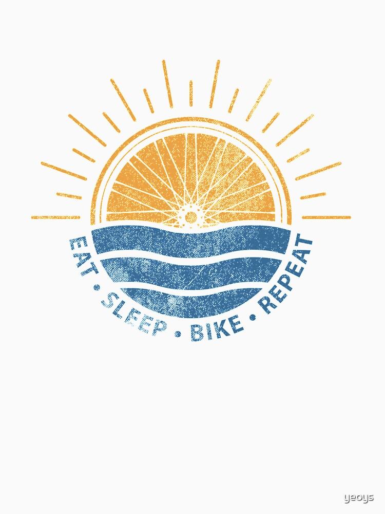 Eat Sleep Bike Repeat - Mountain bike by yeoys