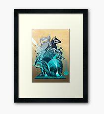 The White King's Knight Framed Print
