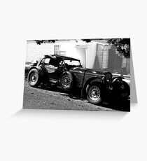 a Bentley ? You're kidding ! Greeting Card