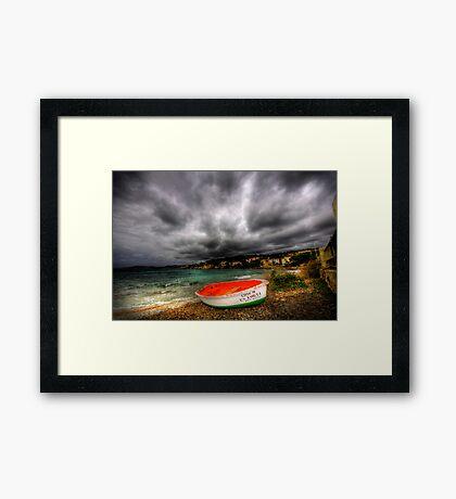Little Row Boat Framed Print