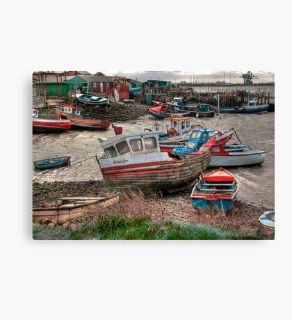 The Boat - Jennifer Canvas Print