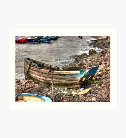 No More Sailing Art Print
