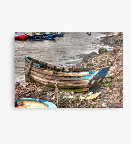 No More Sailing Metal Print