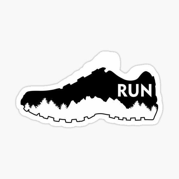 Trail running, chaussure de course Sticker