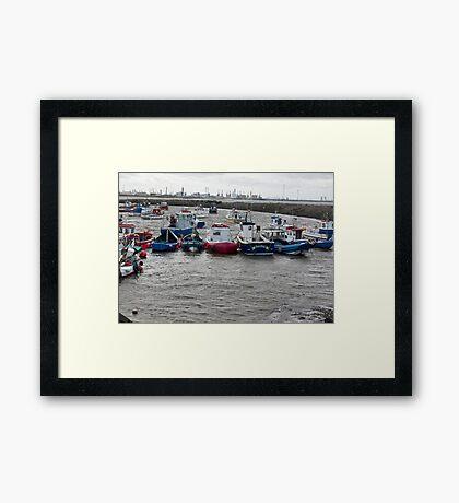 Safe Anchorage Framed Print